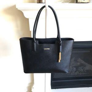 Calvin Klein Black Tote / Bag / Purse